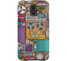 Electronic 80's Retro Devices Samsung Galaxy Case/Skin
