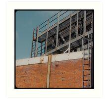 Melbourne's squares 08 Art Print