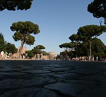 Road To The Colosseum by Neil Osborne