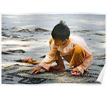 Mangsit Beach - Lombok, Indonesia Poster
