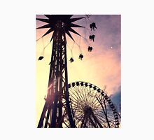 Six Flags Ferris Wheel and Swing Unisex T-Shirt