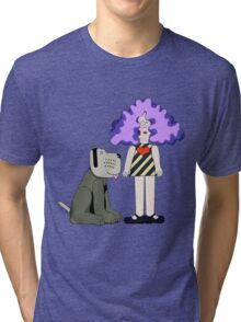 Crystal Tipps and Alistair Tri-blend T-Shirt