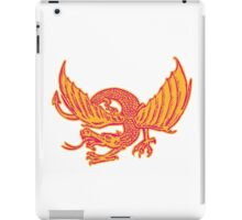 Dragon Medieval Front Etching iPad Case/Skin