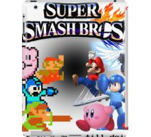 NES vs. Wii U/3DS 'Never Old' Sticker iPad Case/Skin