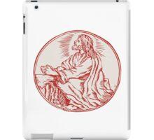 Jesus Christ Agony in the Garden Etching iPad Case/Skin