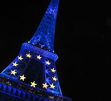 Eiffel Blue by LouieToo