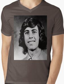 Young Jerry Seinfeld Mens V-Neck T-Shirt