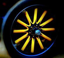 """"""" Vintage Chevy Wheel """"  by helmutk"""