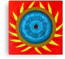 3rd Eye Mandala Canvas Print