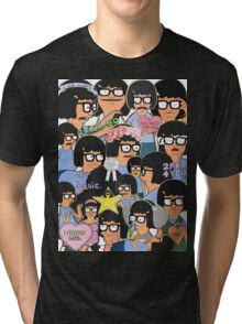 when your scrolling tumblr and... Tri-blend T-Shirt