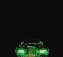 Green Hornet Car by ray1515