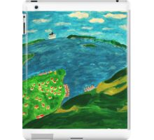 Bergen in summer iPad Case/Skin