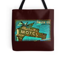 Motel Sign Route 66 Tote Bag