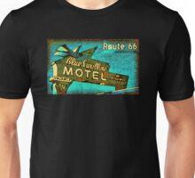 Motel Sign Route 66 Unisex T-Shirt