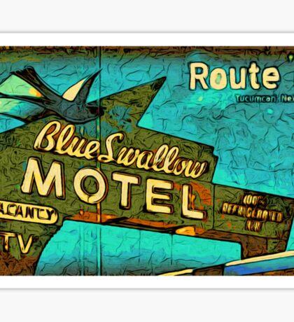 Motel Sign Route 66 Sticker