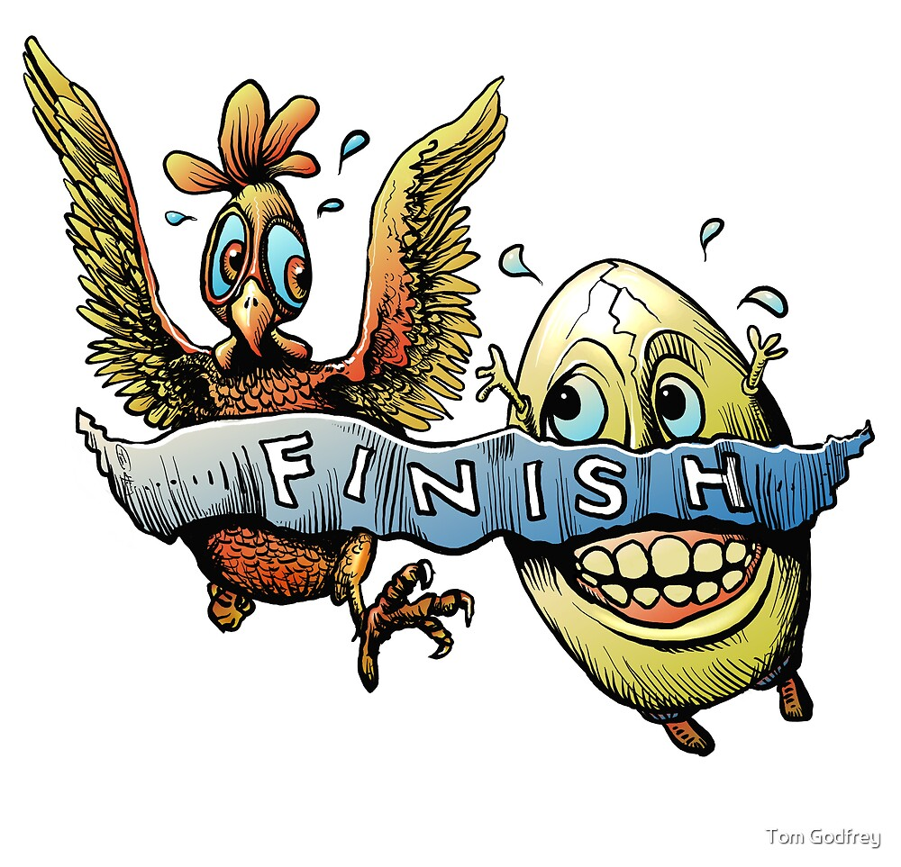 Chicken or the Egg? by Tom Godfrey