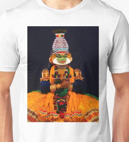 The Character Pacca (Kathakali), Kerala Kalamandalam, India Unisex T-Shirt