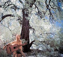Carly Guitar Infrared by Reynandi Susanto