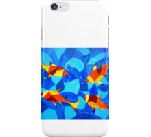 Joy Fish -Abstract painting iPhone Case/Skin
