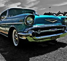 Chevrolet Belair in blue. by Ferenghi