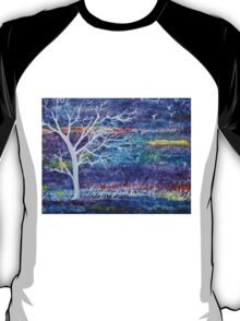 Abstract Landscape tree T-Shirt