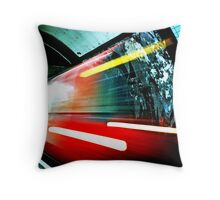 London Underground Throw Pillow