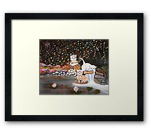 Cats in the Wild II Framed Print