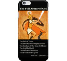 Warrior Girl Poster 3 iPhone Case/Skin