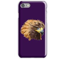 Golden Eagle (Purple) iPhone Case/Skin