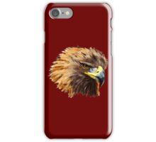 Golden Eagle (Red) iPhone Case/Skin