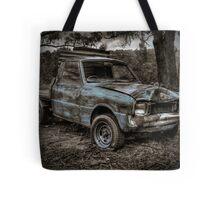 Blue Truck Tote Bag