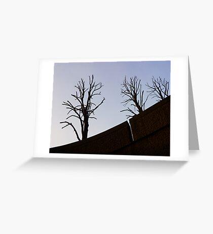 Trellick Trees Greeting Card