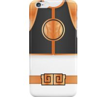 MMPR White Ranger Uniform iPhone Case/Skin