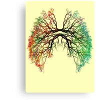The Root of Lungs Canvas Print