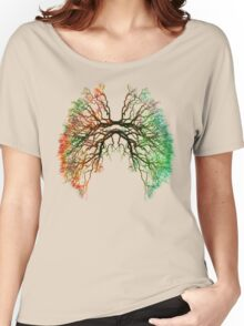 The Root of Lungs Women's Relaxed Fit T-Shirt