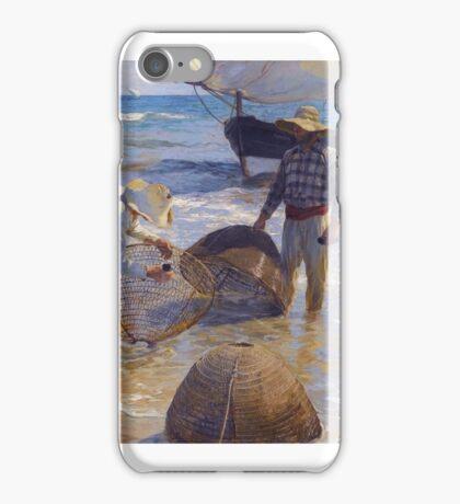 Joaquín Sorolla y Bastida - Los Pescadores Valencianos iPhone Case/Skin