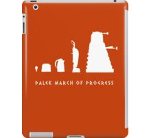 Dalek March of Progress White iPad Case/Skin