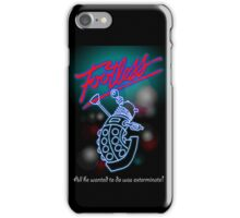 Footless - All he wanted to do was exterminate! iPhone Case/Skin
