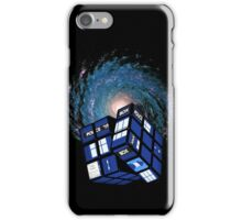 TARDIS CUBE iPhone Case/Skin