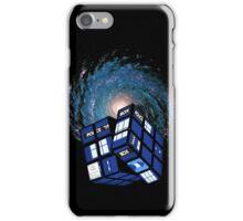 TARDIS CUBE iPhone Case/Skin