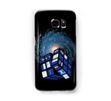 TARDIS CUBE Samsung Galaxy Case/Skin