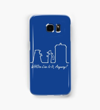 WHOse Line Is It, Anyway? Samsung Galaxy Case/Skin