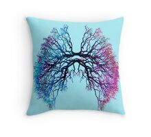 The Root of Lungs 2 Throw Pillow