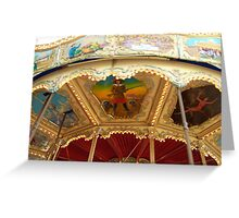 Carousel Artwork 2 Greeting Card