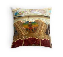 Carousel Artwork 2 Throw Pillow