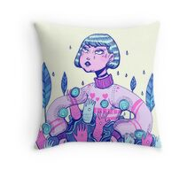 Touch rules Throw Pillow