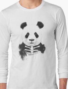 Zombie panda Long Sleeve T-Shirt