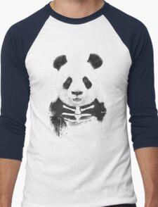Zombie panda Men's Baseball ¾ T-Shirt