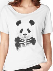 Zombie panda Women's Relaxed Fit T-Shirt