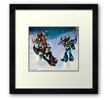 transformers seekers Framed Print